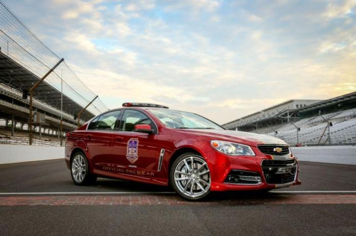 Chevrolet SS Pace Car 3