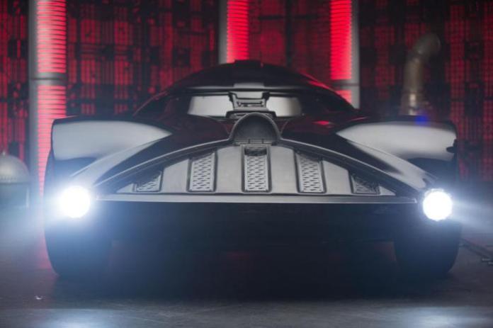 Darth Vader car by Hot Wheels (4)