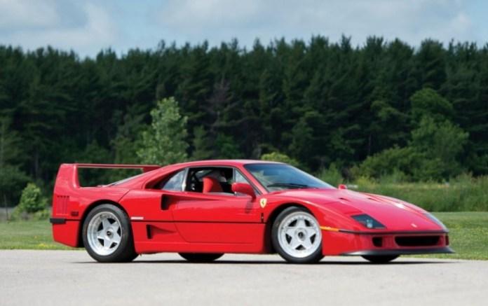 Ferrari F40 rod stewart