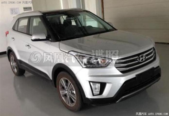 Hyundai ix25 spy photo (1)