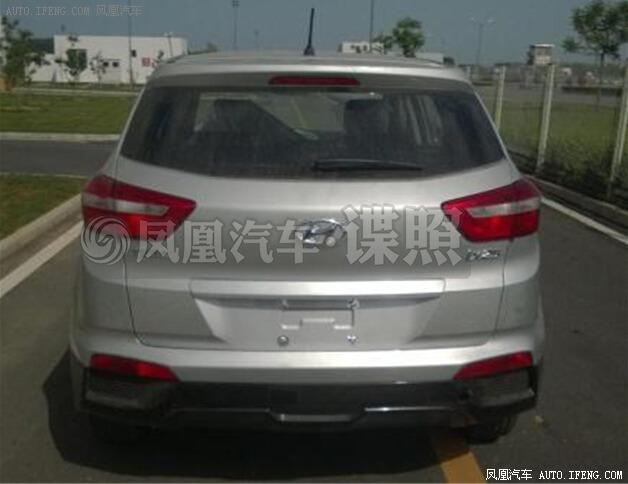 Hyundai ix25 spy photo (2)