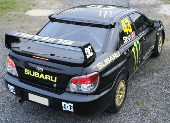 Ken Blocks Subaru Impreza WRX STI rally car 2