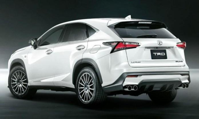 Lexus NX by TRD 3