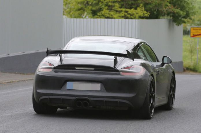 Porsche Cayman GT4 Spy Photos