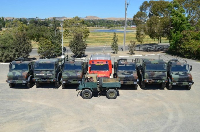 Unimog army vehicles for sale