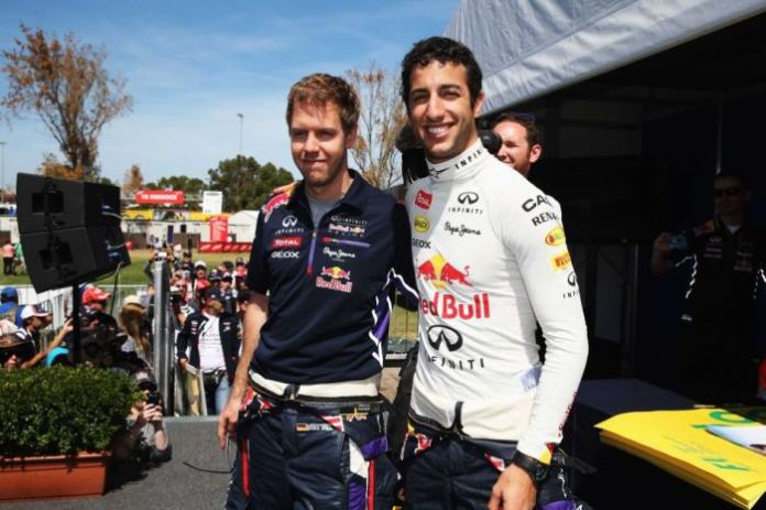 Vettel-Ricciardo