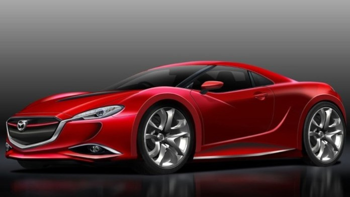 2017 Mazda RX-7 rendering