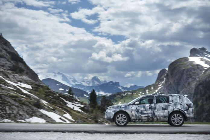 015 Land Rover Discovery Sport teaser image