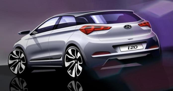 2015 Hyundai i20 teaser design sketch (2)
