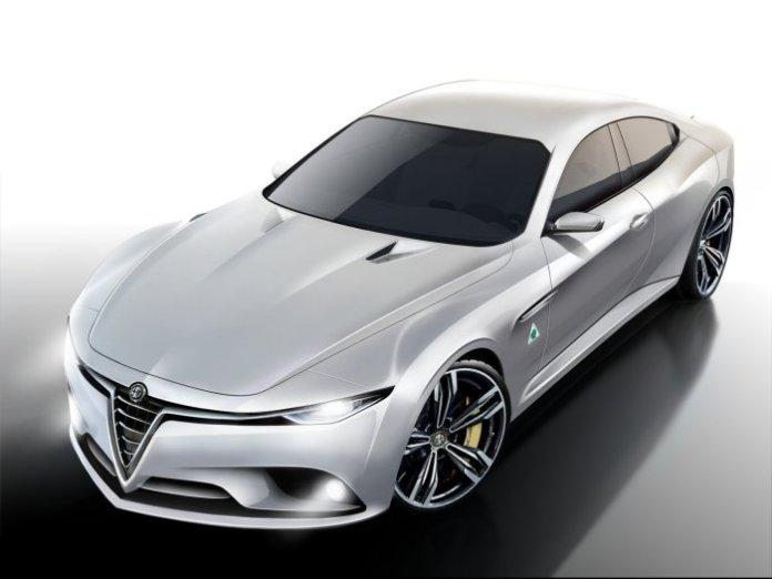 Alfa Romeo Giulia Renderings