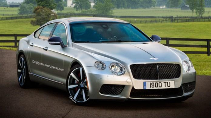 Bentley four-door Coupe1
