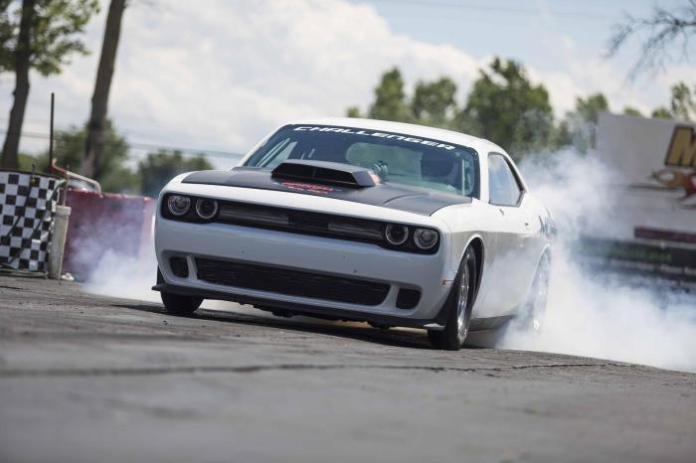 Dodge Challenger Drag Pak Test Vehicle 2015 by Mopar (8)