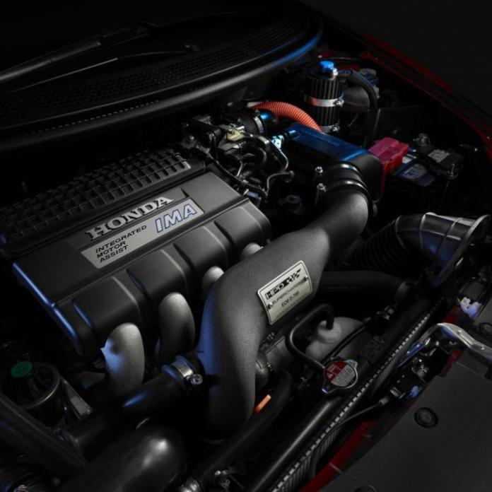 Honda CR-Z with supercharger kit (2)