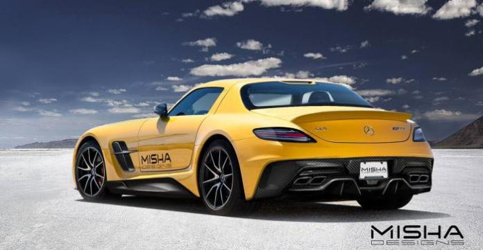 Mercedes-Benz SLS AMG by Misha Designs (2)
