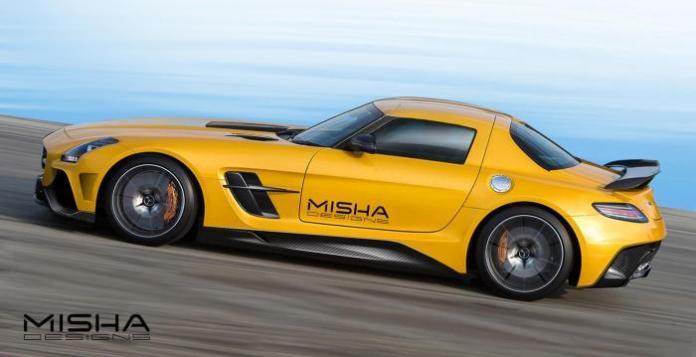 Mercedes-Benz SLS AMG by Misha Designs (4)