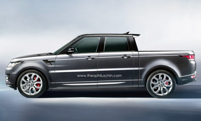 Range Rover Sport Pickup Truck Rendering (2)