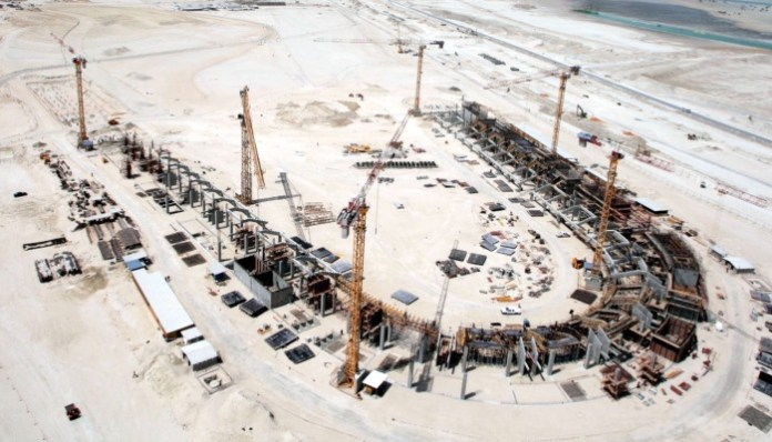 Abu Dhabi Grand Prix Circuit Construction
