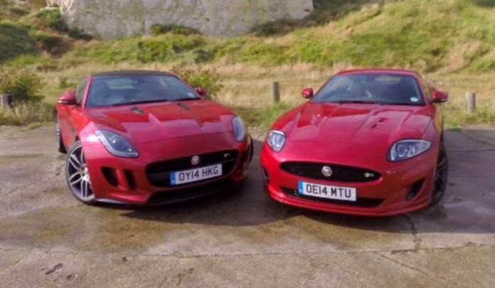 XK Dynamic R Vs F-Type R Coupe