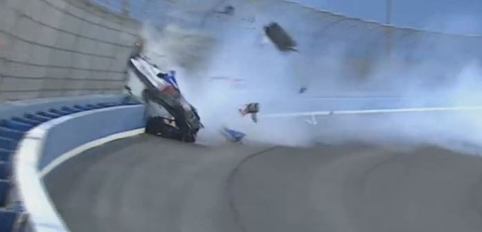 indycar crash