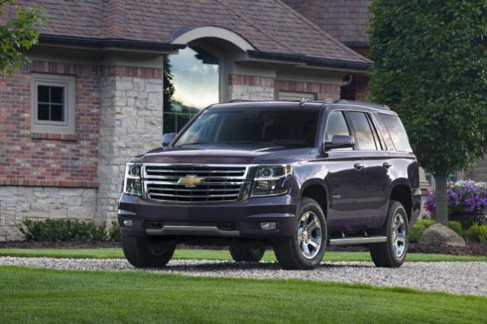 2015 Chevrolet Tahoe and Suburban Z71