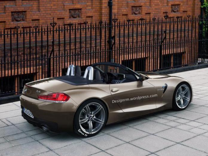 BMW Z4 roadster 2018 rendering RM Design (1)