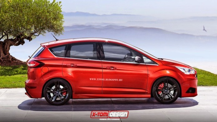 Ford C-MAX ST rendering