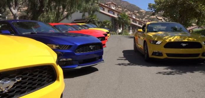 Ford Mustang EcoBoost vs BMW i8