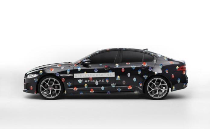 Jaguar XE by Stella McCartney (2)