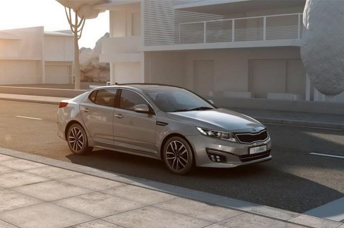 Kia Optima T-Hybrid Concept (3)