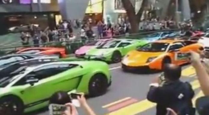 Lamborghini Orchard Road