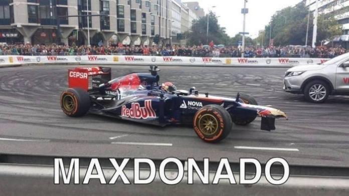 Max Verstappen - Maldonado
