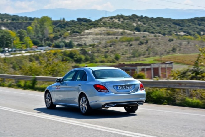 Mercedes-Benz C180 Test Drive