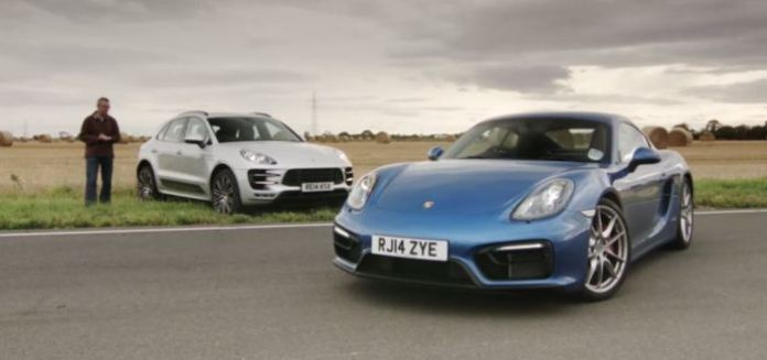 Porsche Macan Turbo vs Cayman GTS