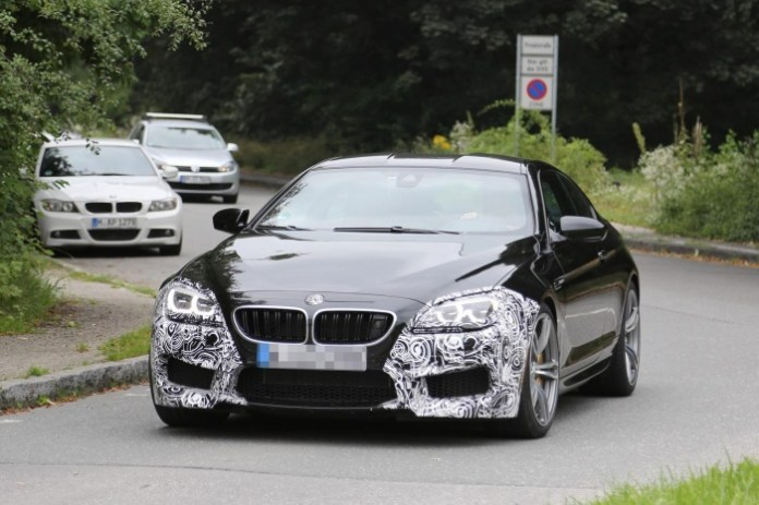Spy Photos BMW M6 Coupe facelift (1)