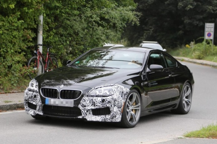 Spy Photos BMW M6 Coupe facelift (2)