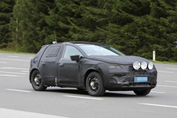 Spy Photos Seat Crossover test mule (2)