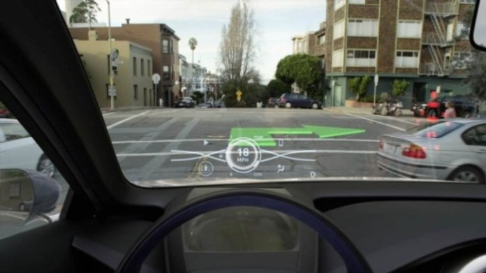 Toyota 3D Head-Up Display (2)