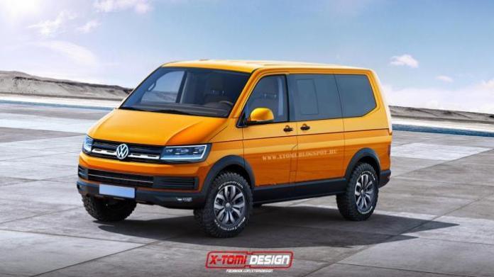 Volkswagen Transporter T6 rendering (1)