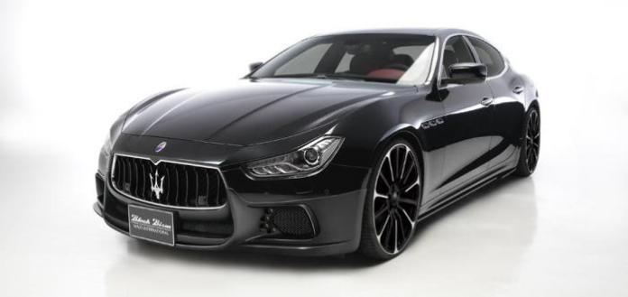 Wald Maserati Ghibli Black Bison (2)