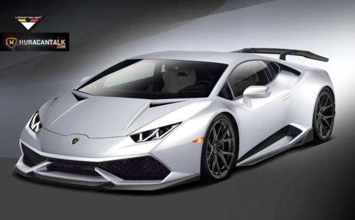 Vorsteiner Previews Lamborghini Huracan Upgrades