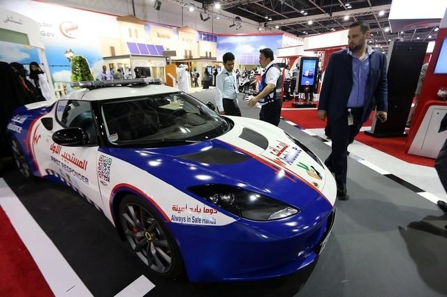 Lotus Evora first response vehicle