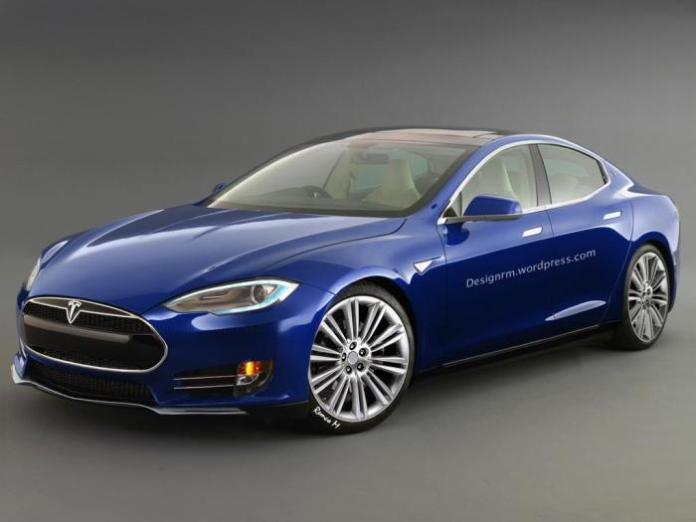Tesla Model III render / RM Design