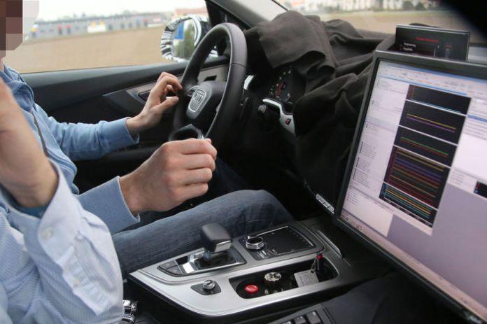 Audi Q7 2015 Spy Photos (3)