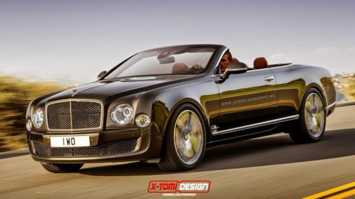 Bentley Mulsanne Speed convertible [Rendering]