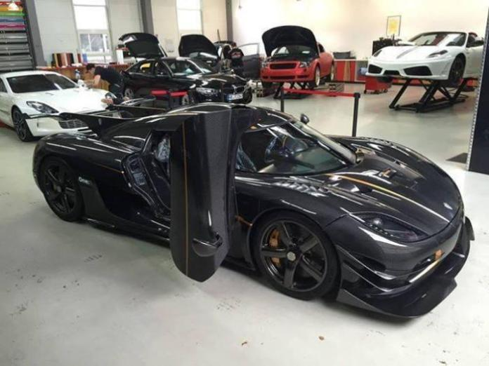 First Koenigsegg One1 registered in Germany