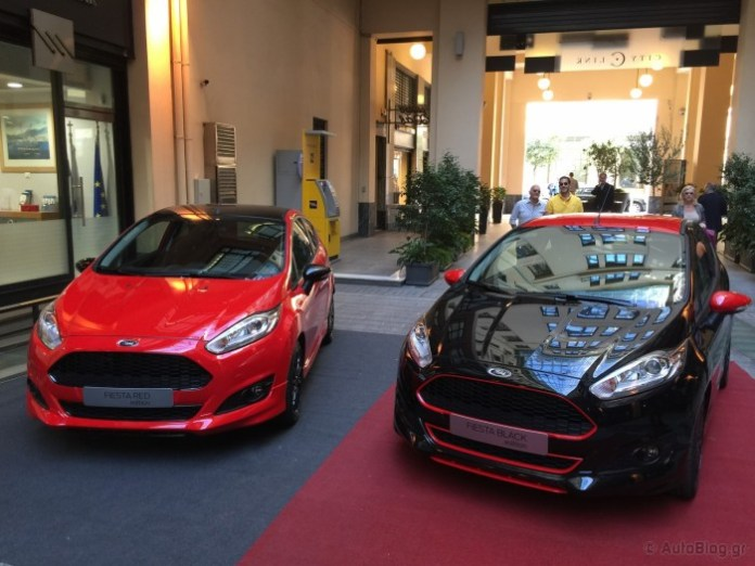 Ford Fiesta Black and Red Edition in Greece (1)