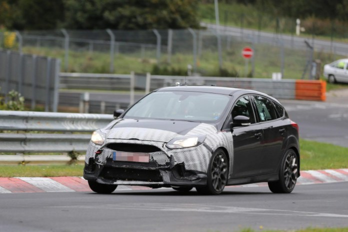 Ford Focus RS 2016 Spy Photo