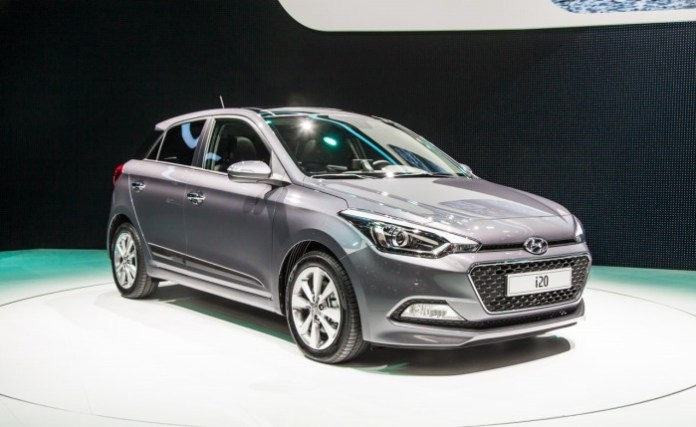 Hyundai i20 live in Paris 2014