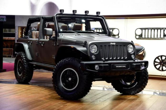 Jeep Wrangler Unlimited Rubicon Stealth concept 2