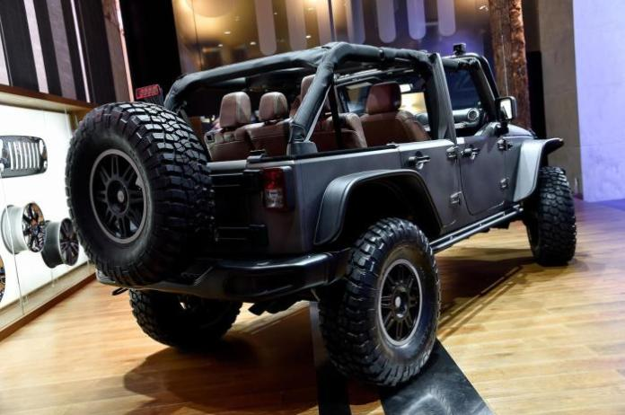 Jeep Wrangler Unlimited Rubicon Stealth concept 3